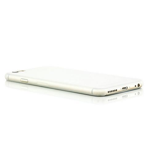 Microsonic Ultra Thin 0.2Mm iPhone  6 Plus (5.5'') Kılıf Beyaz Renkli